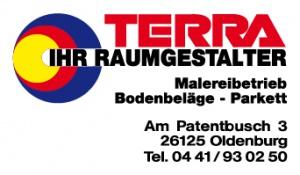 Terra Bauindustrie - Sponsor des TTC Oldenburg